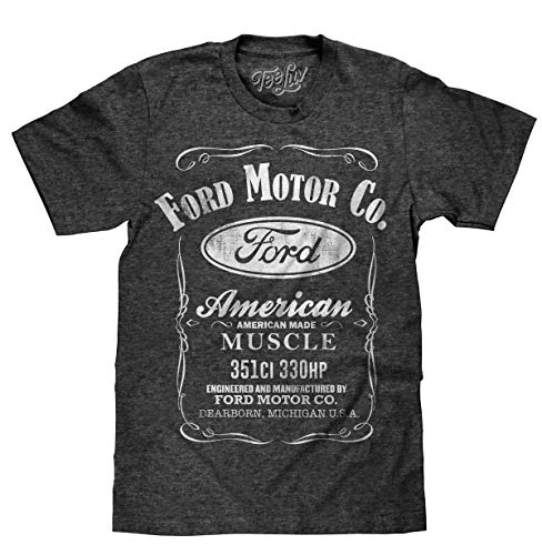 Tee Luv Ford American Made Muscle Shirt - Camiseta oficial de Ford Motor Company, XXL