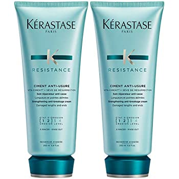 Kerastase Resistance Duo Pack: Ciment Anti-Usure For Chemically or ...