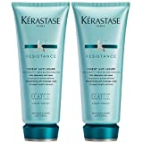 KERASTASE RESISTANCE CIMENT ANTI-USURE CONDITIONER FOR ALL DAMAGED HAIR TYPES 200 ML DUO PACK
