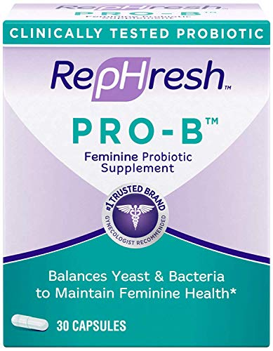 Rephresh Pro-B Probiotic Feminine Supplement, 30 Capsules ( Pack of 3)