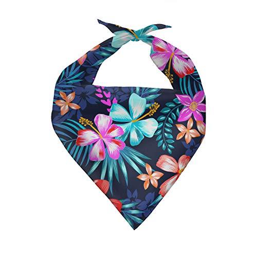 Agroupdream Pañuelo para bebé para niñas, niños, perros, baberos diarios, mascotas, bufanda triangular, pañuelo de verano cómodo