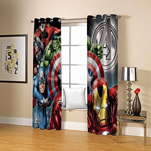 cortinas habitacion spiderman