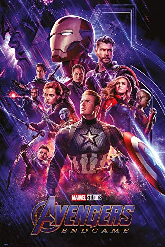 Erik Póster Vengadores Marvel Endgame One Sheet, 61x91,5 cm