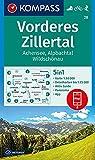 KOMPASS Wanderkarte Vorderes Zillertal, Achensee, Alpbachtal, Wildschönau: 5in1 Wanderkarte 1:50000 mit Aktiv Guide, Detailkarten und Panorama ... Skitouren. (KOMPASS-Wanderkarten, Band 28)