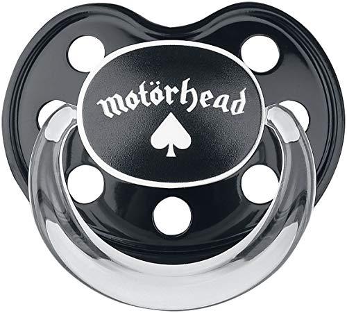 Motörhead Motörhead Logo Unisex Schnuller schwarz 0-6 Monate Kunststoff Band-Merch, Bands