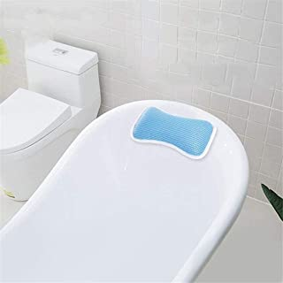 KUNXIAOY Bath Pillow with Suction Cups, for tub, Head, Neck, Shoulder Support, Breathable Relax Comfort, Air Mesh Spa Bathtub Pillow