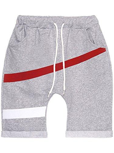 BEZLIT Jungen Kinder Capri Shorts Kurze Hose Baggy Made in Italien 22650 Grau Größe 128
