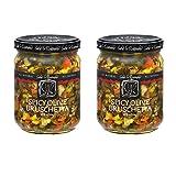 Sable & Rosenfeld Olive Bruschetta - Earth Kosher - Spicy Olive Bruschetta - 2 Pack (16 oz each)