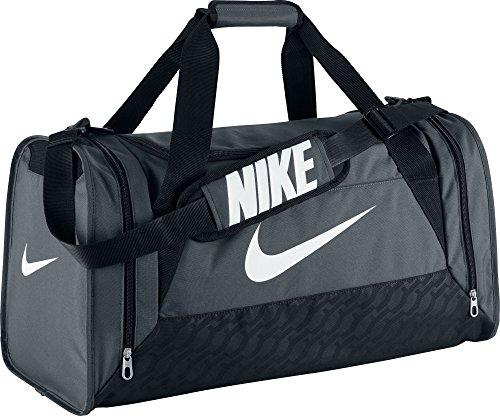 Nike Unisex Sporttasche Brasilia 6, grau, 62 x 33 x 33 cm, 68 Liter, BA4829-074