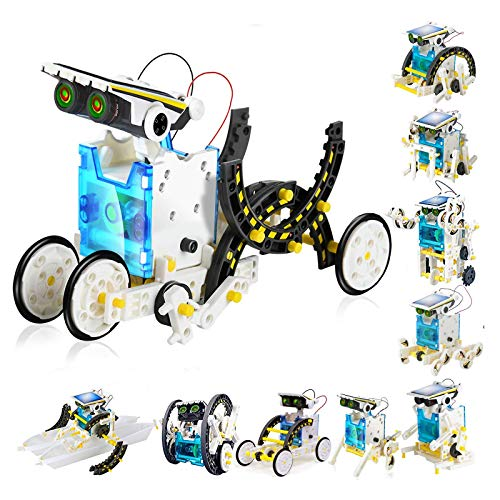 STEM Toys for 8 Year Olds Kids Education Solar Robot - Science Experiment DIY Building Kit Stem Toys...
