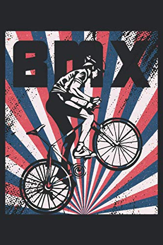 BMX: Lined Notebook Journal ToDo Exercise Book or Diary (15.24 x 22.86 cm) with 120 pages
