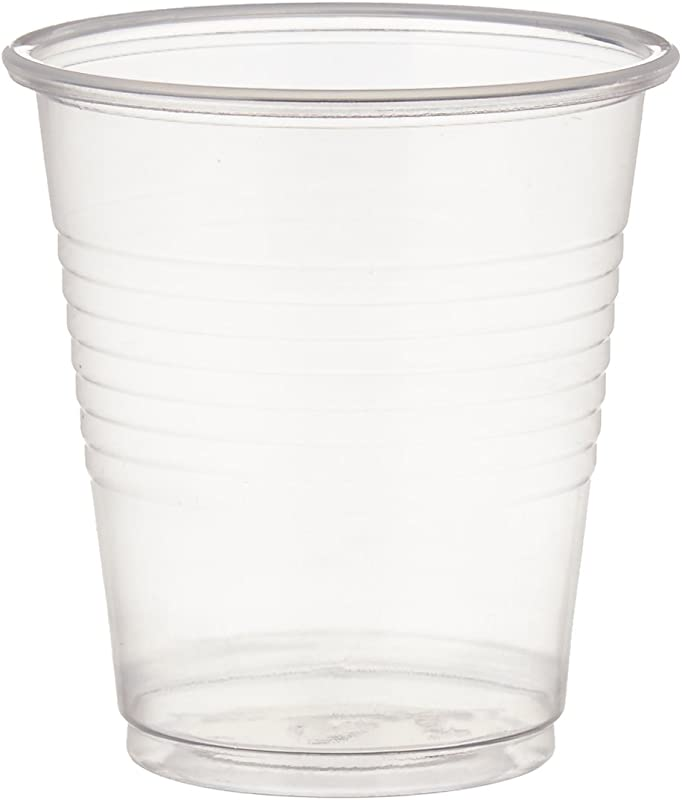 Dynarex Disposable 3 Oz Plastic Drinking Cups 100 Per Package