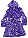 Just Love Velour Printed Robes,Purple,Girls' 7-8