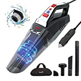 Car Vacuum, Portable Vacuum Cleaner for Car, 12V High Power Corded Handheld Vacuum with 16.4ft Power Cord, Car Vac for Detailing and Cleaning Interior, Ideal for Christmas