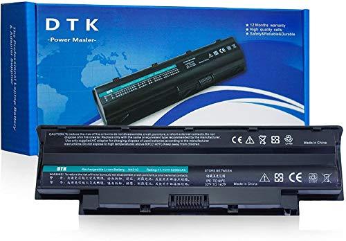 Dtk® Batterie Haute Performance pour Ordinateur Portable Dell Inspiron N5110 N5010 N4110 N4010 N7110 N3010 M5110 M4110 M501 M503 3420 3520 15r 17r-N7110 17r-N7010 14r 13r , Fits P/n J1knd 4t7jn [6-cell 4400mah/49wh]