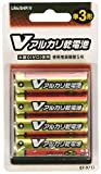 オーム OHM Vアルカリ電池単3形 4本パック LR6/B4P/V