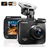 AZDOME UHD 2160P Dash Cam, GPS WiFi Dashboard Car Camera DVR Recorder with G Sensor, WDR,170° Wide Angle, Night Vision, Loop Recording, Parking Monitor, Support 128GB Max
