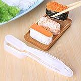 Herramientas de Sushi -DIY Molde de Bolas de arroz Hecha a Mano/de plástico/de Sushi, máquinas Cocina Utensilios de Cocina Bento Herramienta inlijianzhugon