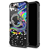 iPhone 6S Case,Trippy Dragon Colorful iPhone 6 Cases for Girls Boys,Fashion Graphic Design Shockproof Anti-Scratch Drop Protection Case for Apple iPhone 6/6S