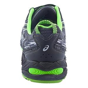 ASICS Men's Gel-Venture 5 Running Shoe, 11M, Castle Rock/Black/Green Gecko
