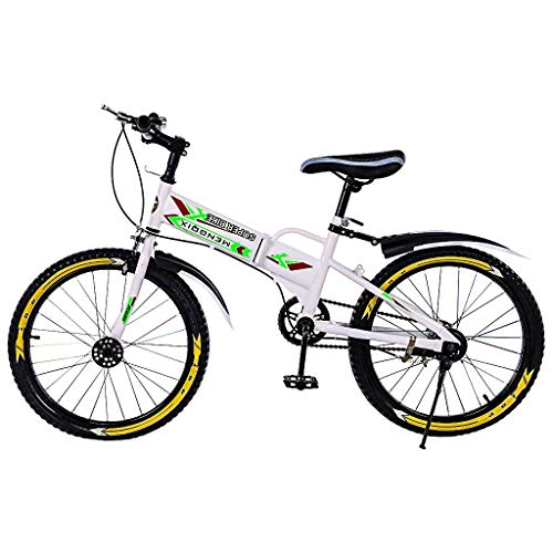 Jiayit 【US Stock】 20 Inch Mountain Bike for Adults Teens, BMX/Freestyle Bike with Water Bottle Bag and Kettle Comfortable Commuter Bike High Steel Frame Outroad Bike