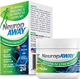 VasoCorp NeuropAWAY Neurop Pain Relief | 2 oz Maximum Strength Gel Nerve Pain Relief and neurop Pain Relief for feet, neurop Treatment for Burning Numbness Pain in Legs and feet Topical Gel.