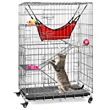 Best Cat Cages - Best Choice Products 30x19x43in 4-Tier Steel Cage Playpen Review