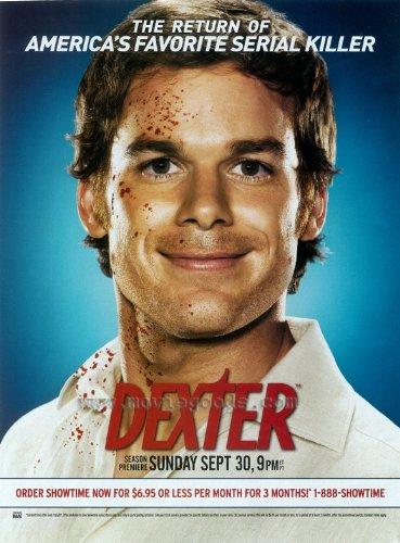 Dexter Poster TV G 27x40 Michael C. Hall Jennifer Carpenter Devon Graye
