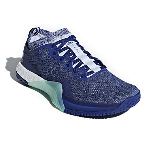 adidas Women's Crazytrain Elite Cross Training Mystery Ink/Cloud White/Aero Blue 8 B(M) US