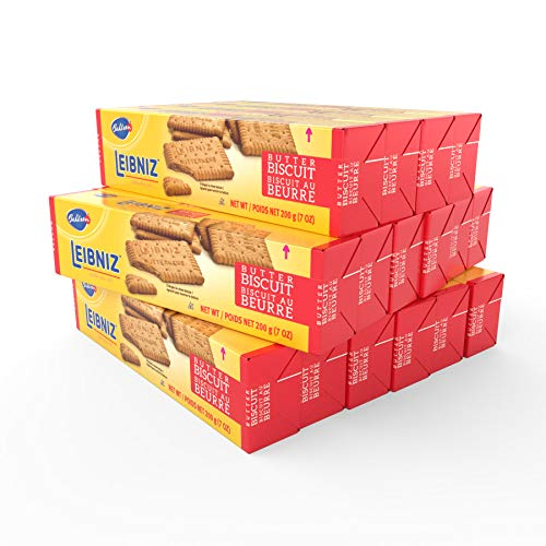 Bahlsen Leibniz Butter Biscuits 16 pack | Our classic original buttery biscuits 7 ounce boxes