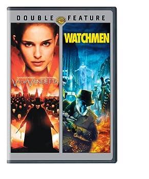 V for Vendetta / Watchmen  DVD   DBFE