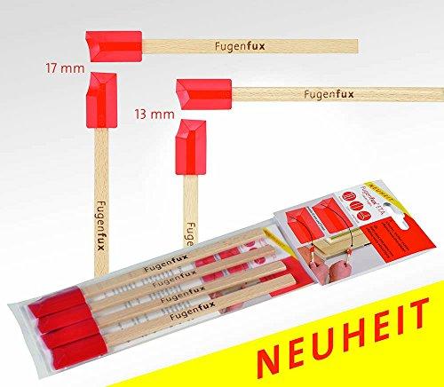 Glättspachtel Fugenfux F.T.A. Fugenabzieher Set 4tlg