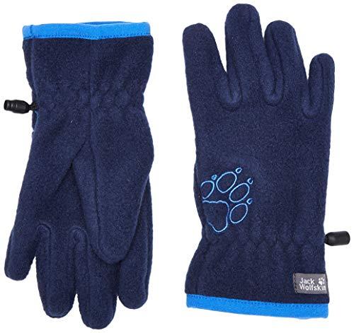 Jack Wolfskin Kinder Baksmalla Handschuhe, Midnight Blue, 140