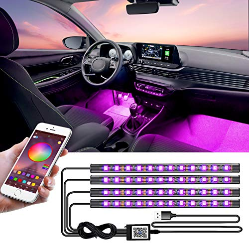 LED Interior Car Lights,App Cont...
