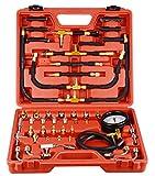 0–140PSI presión de inyección de combustible calibre probador KIT de herramientas