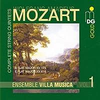 Mozart: String Quintets in E Flat & B Flat (2001-07-24)