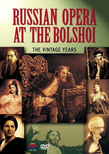 Russian Opera At The Bolshoi: The Vintage Years [Alemania] [DVD]