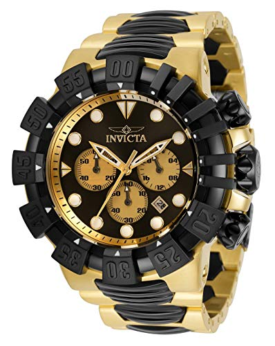 Invicta Men's 52mm Excursion Quartz Chronograph Stainless Steel Bracelet Watch 32376