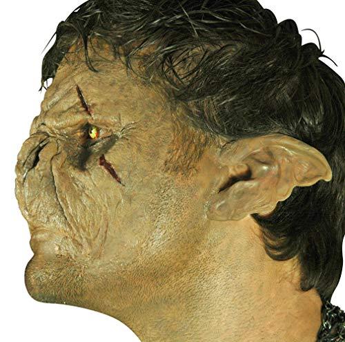 Maskworld Ohren aus Latex für Orks, Dämonen und andere LARP-Wesen - Grün