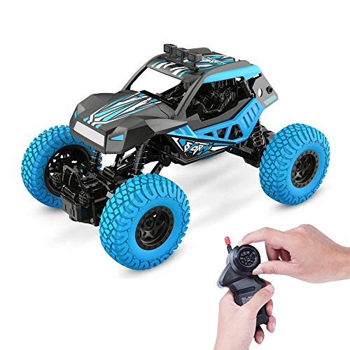 WGFGXQ RC Car Offroad Trucks 2.4G 4WD Alloy High Speed Drift Radio Control Remoto Car RC Rock Crawler Car Racing Monster Truck para niños Adultos Niños Regalo de cumpleaños