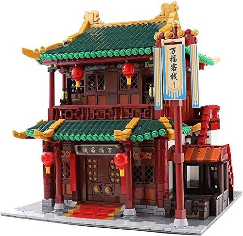 Baukasten, 3DMiniature DIY Architecture Model Kit, 3046 Stück kreatives Modell Toy Bricks 01022,3046pcs