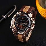 Armbanduhr herren Liusdh Uhren Golden Deluxe Compass Blue Ray Uhrenarmband Herrenuhr...