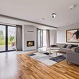 Pal Camera, Plug And Play 20M Night Vision 3.6Mm Cámara CCTV con lente fija, para instalación rápida Office Villa Seguridad en el hogar Interior y exterior(5MP)