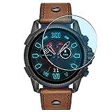 Vaxson 3-Pack Anti Luce Blu TPU Pellicola Protettiva, compatibile con DIESEL ON Full Guard 2.5 smartwatch Case Size:47mm, Screen Protector Film [ Non Vetro Temperato ]