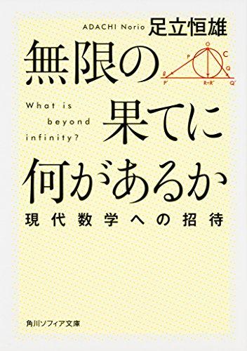 無限の果てに何があるか 現代数学への招待 (角川ソフィア文庫)の詳細を見る