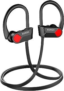KUNGIX Audífonos Bluetooth 5.0, IPX7 Impermeable Auriculare