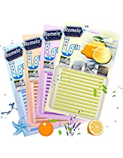 [2021 Newest] Drain Cleaner Sticks, Non-Toxic Sink Clean Deodorizer for Kitchen Bathroom Drains Sinks Pipes Septic Tank Safe Drain Sticks- Prevents Clogged Drains in 4 Color Set