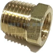 EDGE INDUSTRIAL Brass REDUCING HEX Bushing 1/4