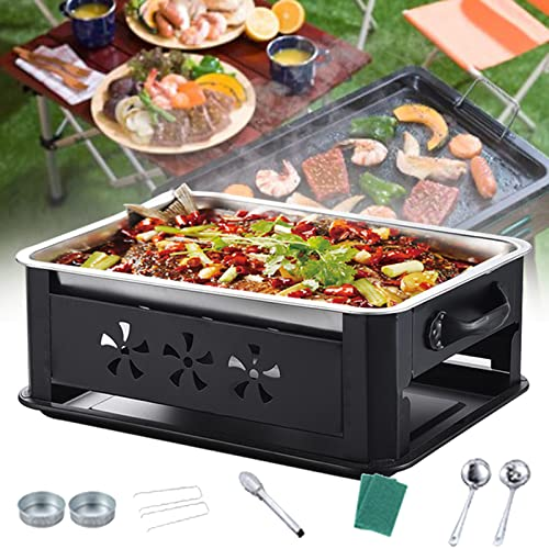 DBMGB Holzkohlegrill Camping,...