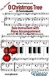 O Christmas Tree - Solo with Piano acc. (key Bb): O Tannenbaum (Christmas Carols) (English Edition)
